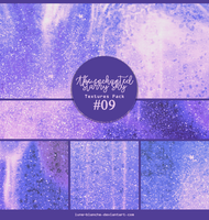 Textures pack #09 - The enchanted starry sky by lune-blanche
