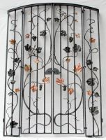 Wine cellar gate by artistladysmith