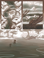 Driftwood Hollow: Of Mirrors and Leaves .. pg2 by Riftmaw