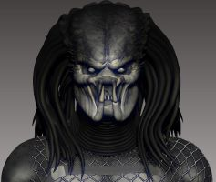 Predator - Zbrush WIP 11 by FoxHound1984