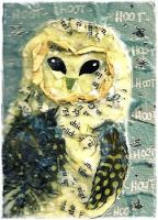 ACEO 12-13 Hoot Hoot by Artistically-DE