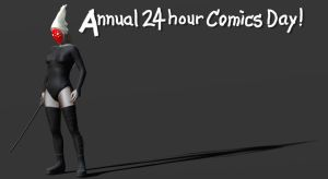 24 Hour Comics Day Promo by magbhitu
