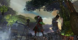 Rose in Guild Wars 2 by Yohan-Gas-Mask