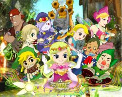 Zelda and the royal orchestra by Dorayakichan