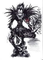 Shinigami in Ink by TWObyKAY