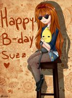 happy b-day suzz by Mikapower19