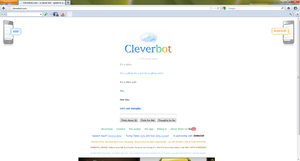 Cleverbot... by Blisspaw