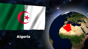 Flag Wallpaper - Algeria by darellnonis