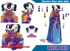 Queen Cold- Color Guide by MatiasSoto