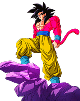 Goku SS4 by alexiscabo1