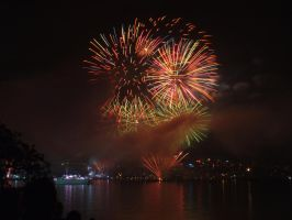 Fleet Review Fireworks 5 by BrendanR85