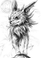 Jolteon by ManiacalMew