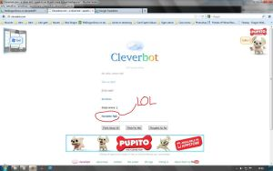 Cleverbot LOL 2 by OmegaDemonFox