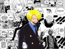 sanji wallpaper by mileylovestina