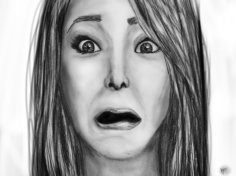Jenna Marbles- The Face by AnnieIsabel