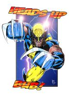 Wolverine - Colour by kre8uk
