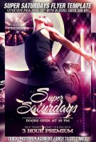 PSD Super Saturdays Flyer Template by retinathemes
