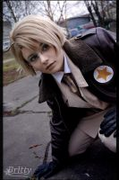 Hetalia America - War by SharyNyanko