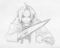 Edward Elric by Grin-Reaper