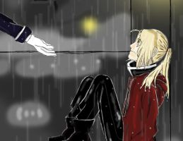 Rainy Day Lamnet by X-Edward--Elric-X
