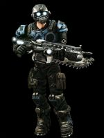 Gears of War Carmine by Crotale
