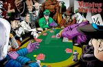 Villains United...For Poker...In Colorvision! by Ejay32