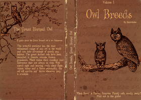 Owl Breeds Volume One FULL cover by Lost-in-Hogwarts