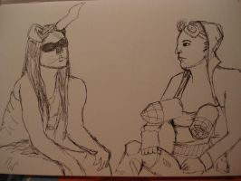 Dr.Sketchy's - February 4 by Diamonds-Hearts