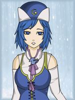 Juvia In the Rain by Harukaruru