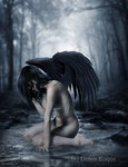 El Angel Triste by DenysRoqueDesign