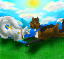100 Theme Challenge - #2 - Love by silver-moonwolf