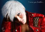 """Dante """"I miss you brother"""" by Evil-Siren"""