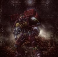 First try in WH40k... by DarthMael