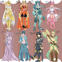 Mmorpg Eeveelution adoptables by Rd406