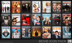 Movie Icon Pack 76 by FirstLine1