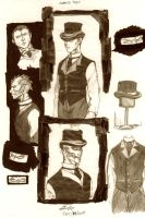 OCs-Victorian Outfits by Thevakien