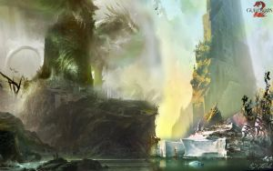 GW2 Landscape Wallpaper by AngelicBond