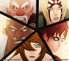 Five Kage by CkayShirley