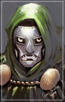 DSC: Doctor Doom by CosmicHombre