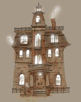 The Haunted House by Chengui