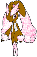 Sparkle The Shiny Lopunny - Contest outfit by MephistaTheDark