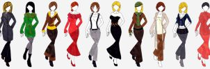 Autumn-Winter Collection '07 by firedancer-clothes