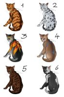 Cat Adoptables - OPEN by Thilil