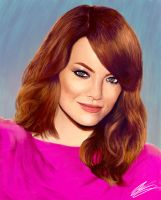 Emma Stone by IronHard