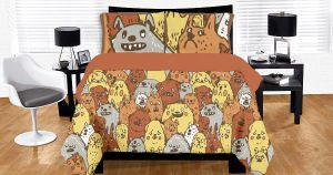 Dogs Duvet by philippajudith