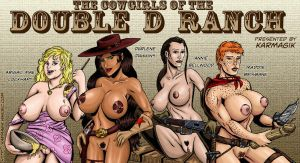 Cowgirls of the Double D Ranch by karmagik