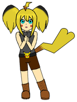 Pikachu Gijinka Colab Part - For Adoption by angelofcryinghearts