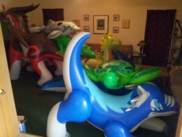 inflatable fur pile! by Aaron8181