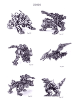 Zoids by WEAPONIX