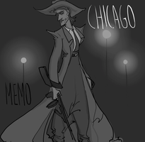 Zoot Suit in Chicago by AymsterSilver